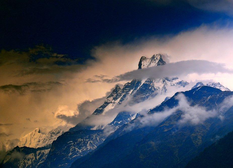 Taken on a trek to the Annapurna Base Camp