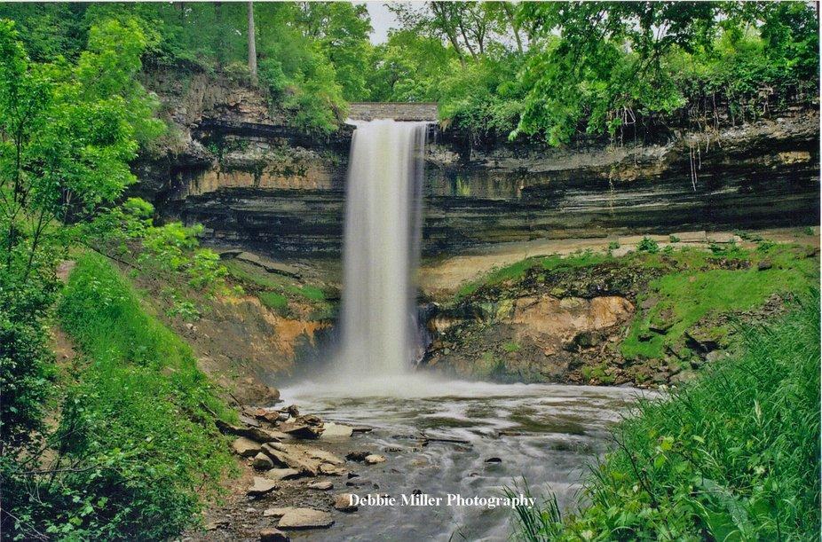 Horizontal Minnehaha Falls
