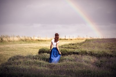 Looking for the rainbow...