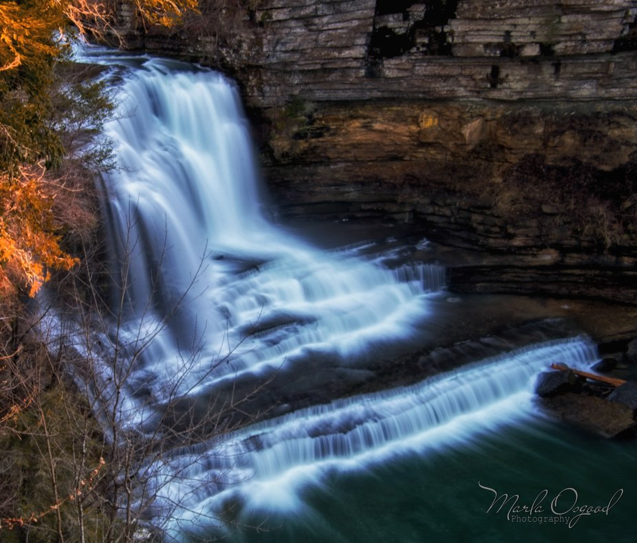 Taken 1-6-2020.  It was the perfect day to shoot this waterfall after recent rains.  The waterfal...