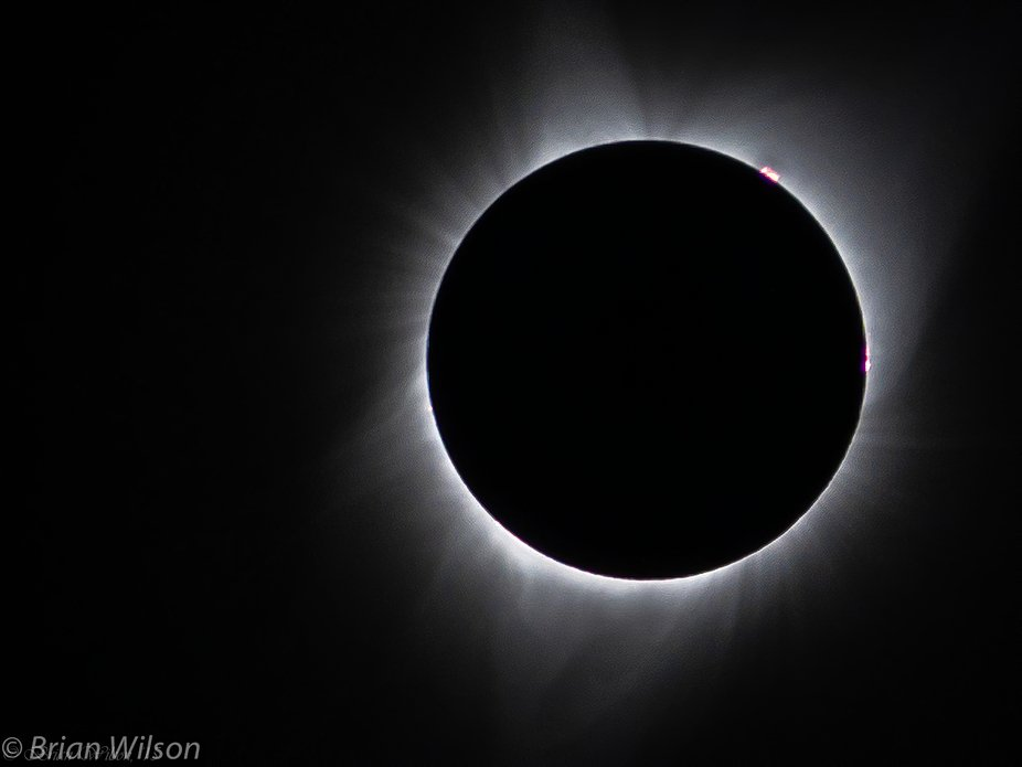 Solar Eclipse viewed from Central E. Oregon. Aug. 21, 2017, 8-11:30AM. N 44.427528deg. W 118.6044...