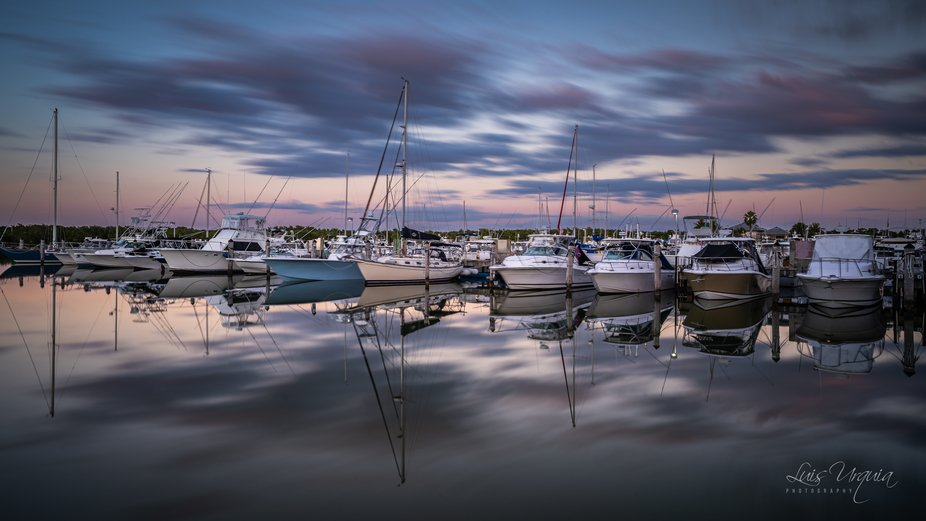 On this shot I used a Lee 6 stop ND filter along with a soft grad filter to balance the image and...