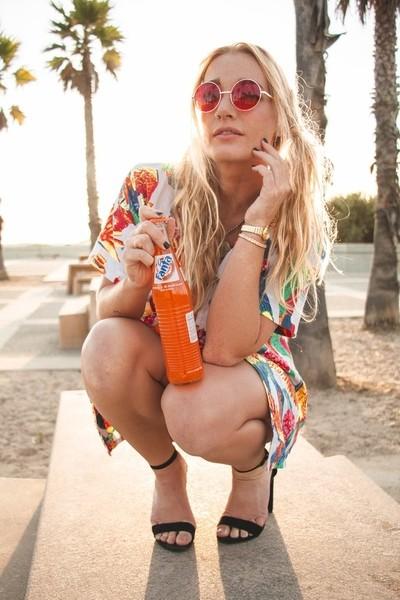 I love orange soda.
