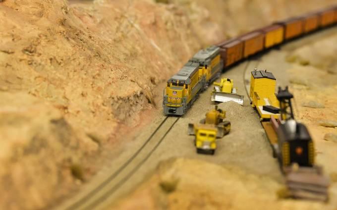 taken at train models exibition
