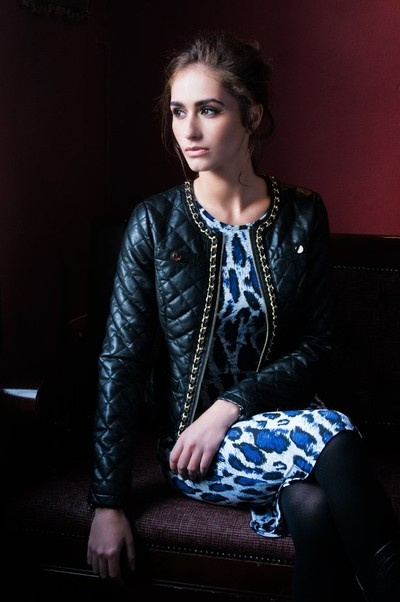 Girl with Quilted Jacket