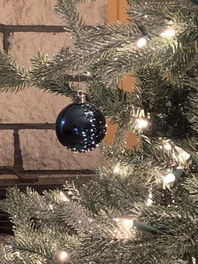 Reflective Christmas Tree Globe