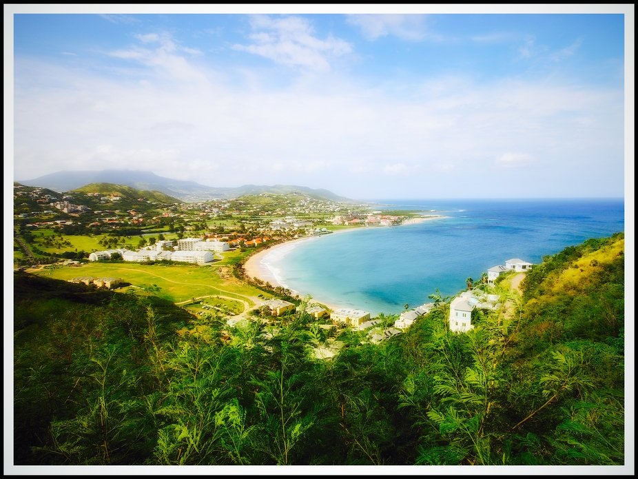 View of St. Kitts Island