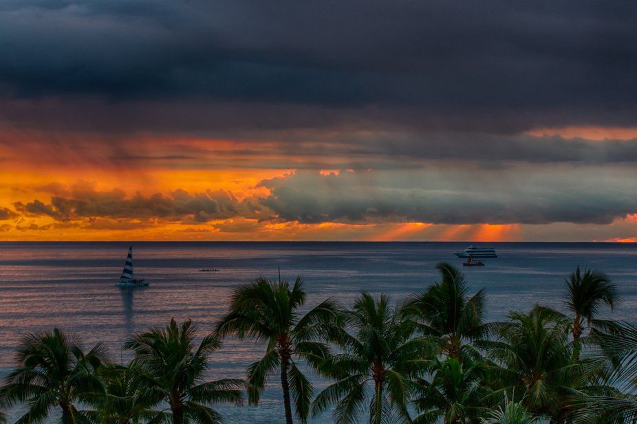 From my recent trip to Oahu.  Made a great choice staying at Aston Waikiki Beach Hotel.  This is ...