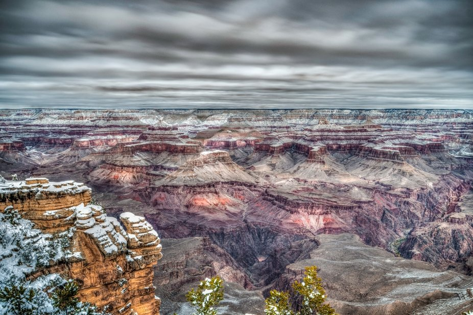 The Grand Canyon is so vast that it's nearly impossible to capture its entire grandeur with one...