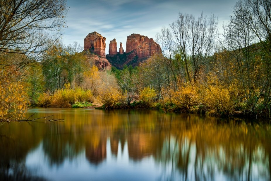We spent a wonderful day exploring the scenes of Sedona, a truly charming town nestled among a pl...