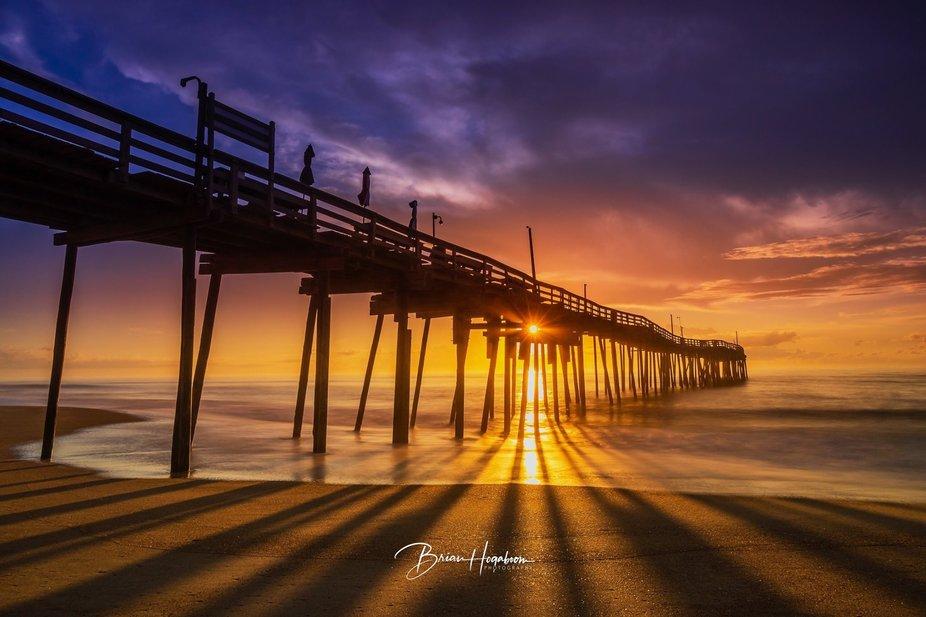 Avon Fishing Pier at Sunrise