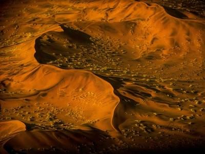 Dawn Touching Namibia