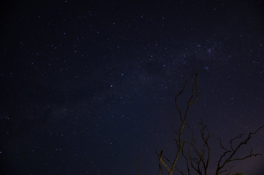 One of my early long exposure Astro Pix with my old camera set up.  Taken up at the Zig Zags in G...