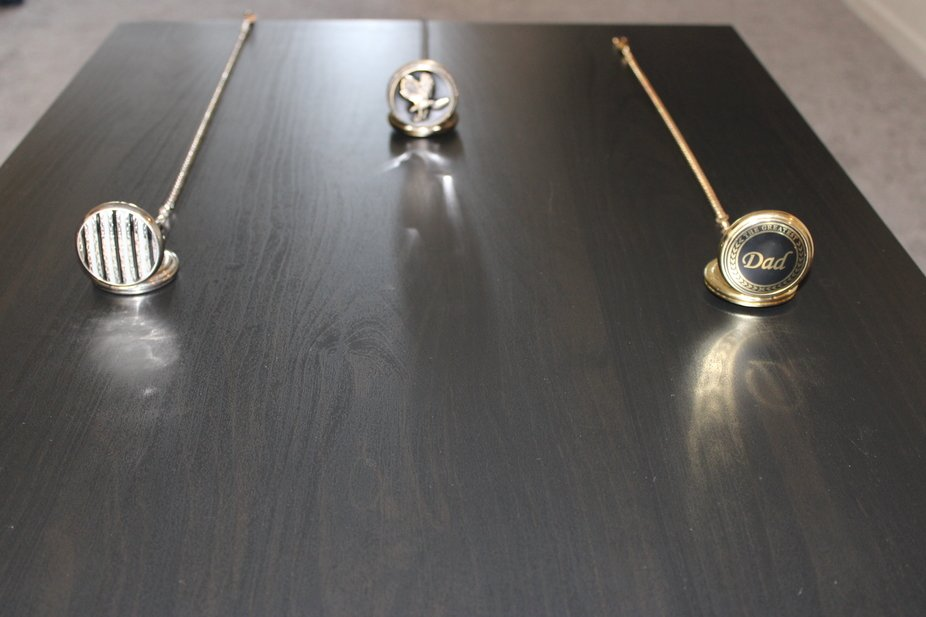 pocket watches on a table