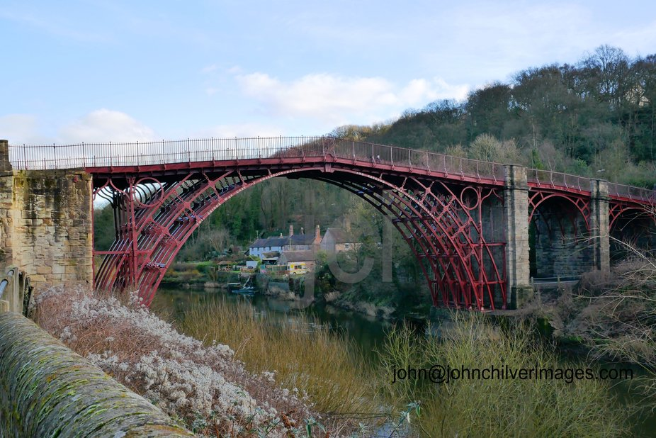 Recently refurbished the Ironbridge was built 1779 and is the icon of the industrial revolution.