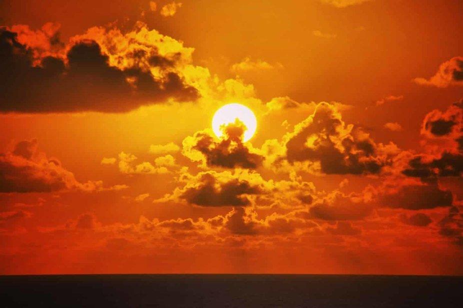 Ich liebe Sonnenuntergänge