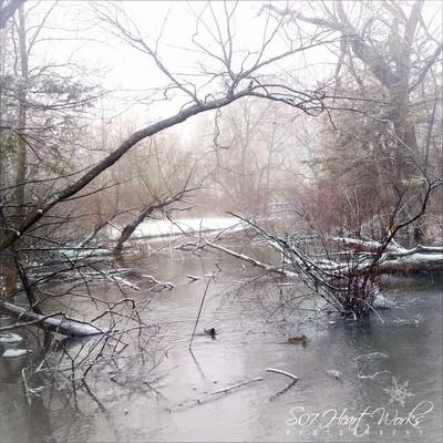 """When snow falls, nature listens."" *#hugZz ツ"