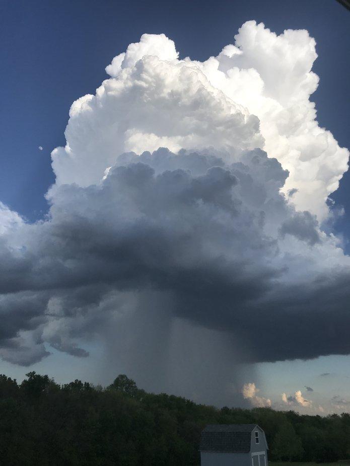 Just little rain cloud!