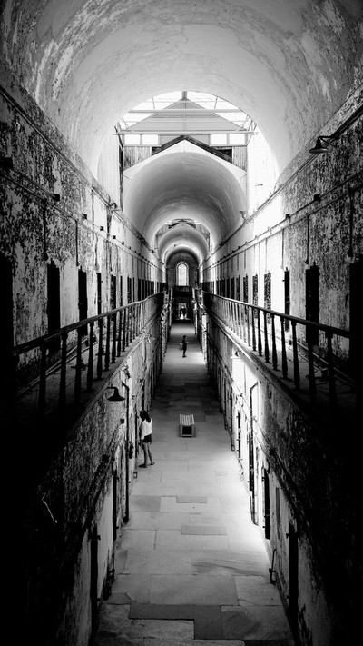 Eastern State Penitentiary...one Hall.