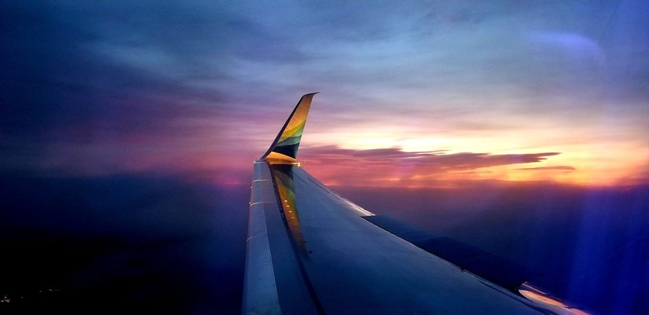 On a wing and a prayer...