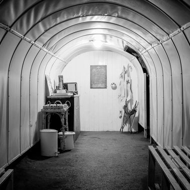 Pictures taken when I was alone in Europe's largest air raid tunnels