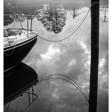 Relflections in the Harbor