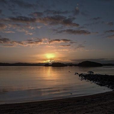 Sunrise (2) - Waitangi, Paihia - Bay of Islands, New Zealand