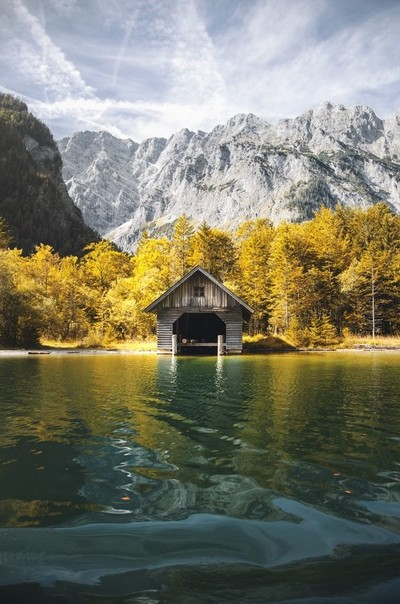 The purity of Königssee lake
