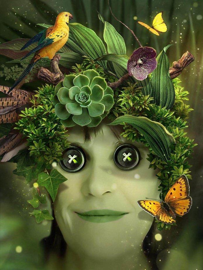 Verschließe nicht die Augen vor der Natur