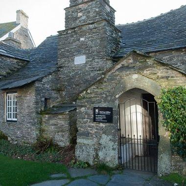 Vieja oficina de Correos en Cornualles Inglaterra.