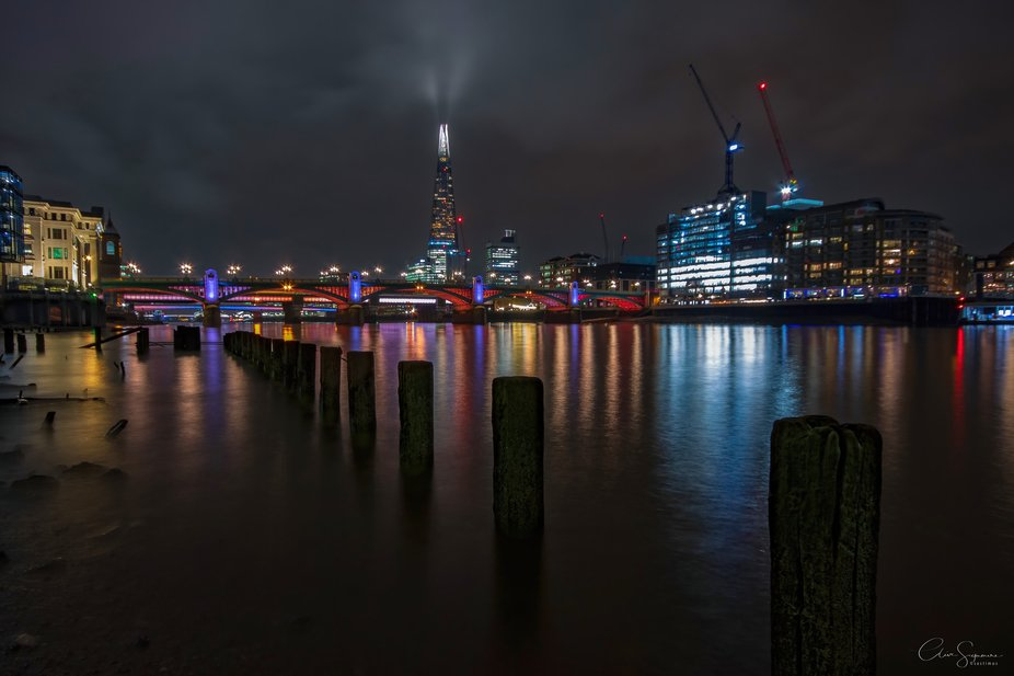 Low tide on the River Thames 2