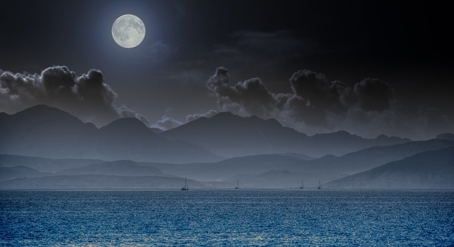 A night on sea