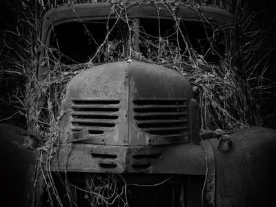 Classic truck Hidden