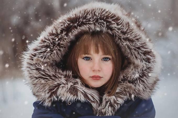 Snow princess  by ryaalexandrea - Winter Fashion Styles Photo Contest