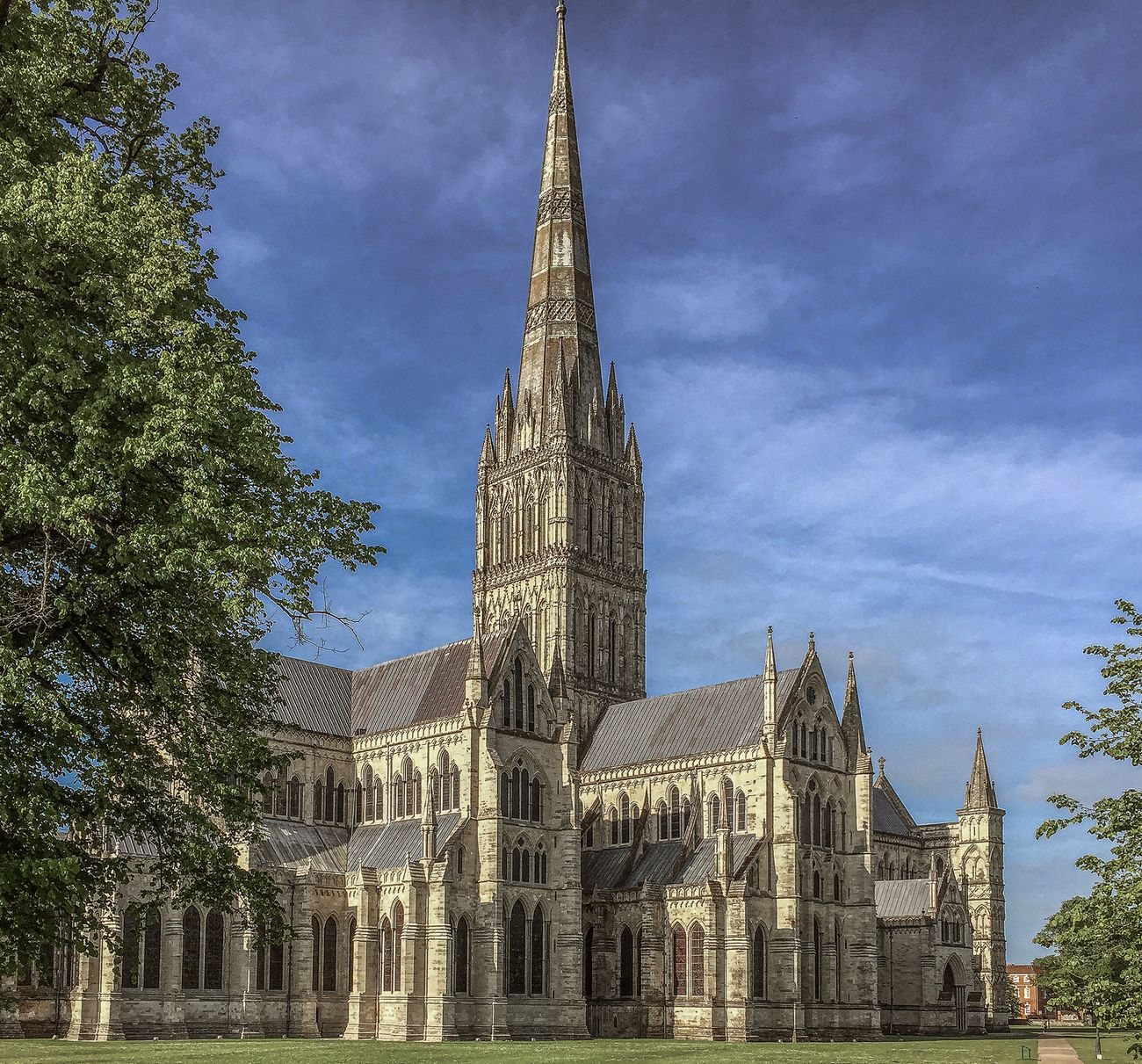 Salisbury Cathedral from the outside