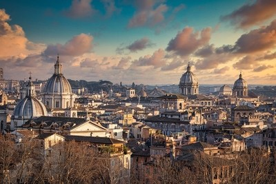 View of classical Rome