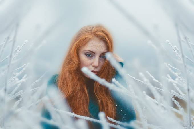 Ginger girl  by rolandpantea - My Favorite Sweater Photo Contest