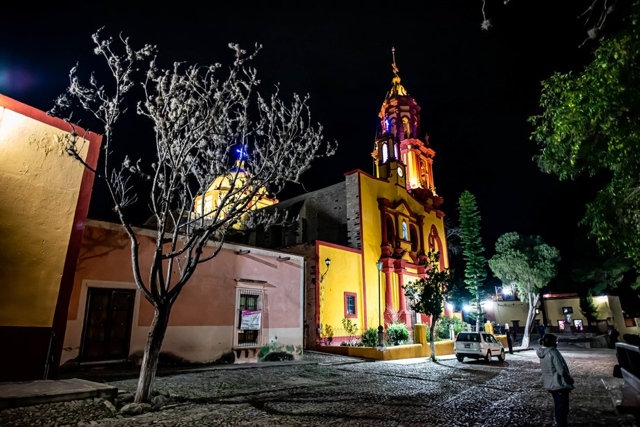 Church at Armadillo, San Luis Potosi, Mexico