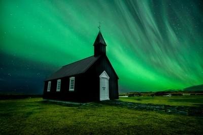 Aurora at the Black Church