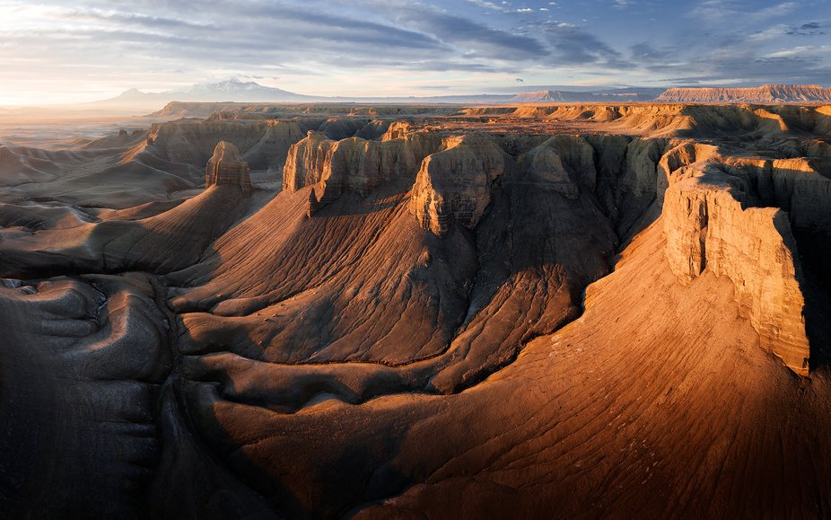 7-image panorama taken with a DJI Mavic Pro