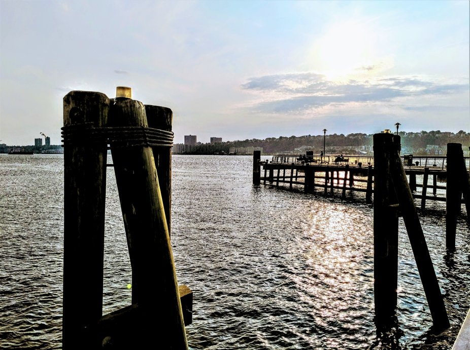 Tranquility by the pier