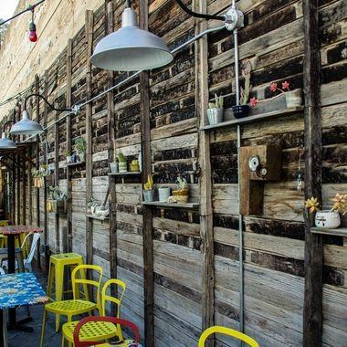 Outdoor Cafe - Bisbee, AZ
