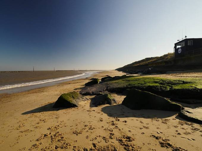 Palling beach, Norfolk.