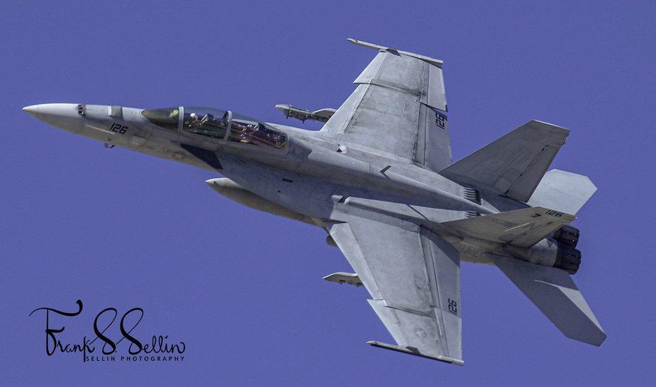 """""""Flying Eagle 126"""" VFA-122 """"Flying Eagles"""" F/A-18 Hornet stre..."""