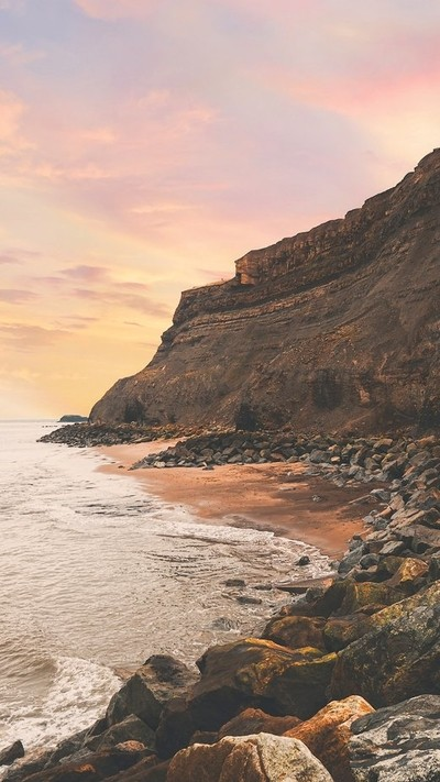 Cliffs off whitby