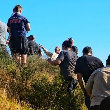 Group hike!