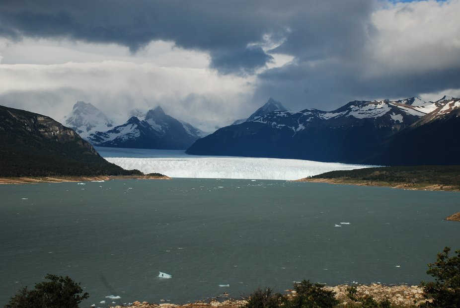 Somewhere in.......the foothills of the Andes, Argentina. Water turns to ice