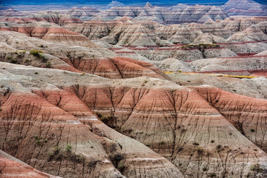 Driving through the Badlands we passed through some out of this world terrain.