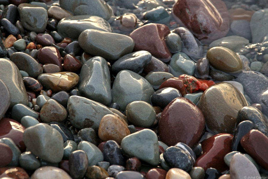 Wet Pebbles 1