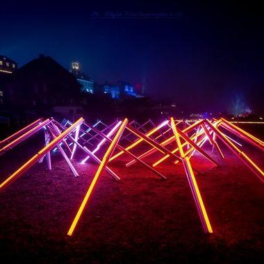 Light installation: The Tetra LightArtist: Nicolas Paolozzi